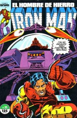 Iron Man Vol. 1 / Marvel Two-in-One: Iron Man & Capitán Marvel (1985-1991) (Grapa, 36-64 pp) #21