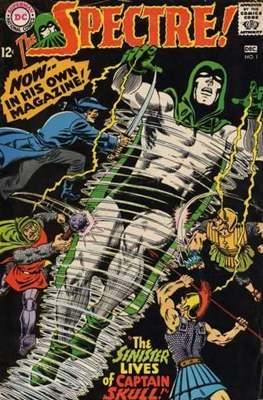 The Spectre Vol 1 (Comic Book. 1967 - 1969) #1