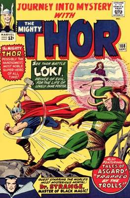Journey into Mystery / Thor Vol 1 (Comic Book) #108