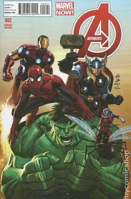 Avengers Vol. 5 (2013-2015 Variant Covers) #2.1