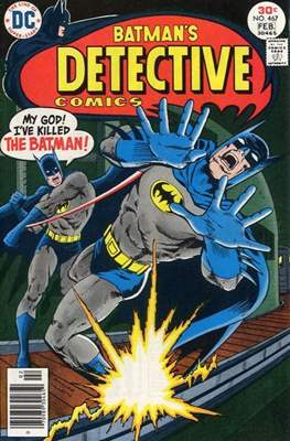 Detective Comics Vol. 1 (1937-2011; 2016-) (Comic Book) #467