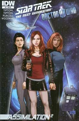 Star Trek: The Next Generation/Doctor Who: Assimilation² (Comic Book 24 pp) #5