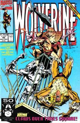 Wolverine (1988-2003) (Comic Book) #45