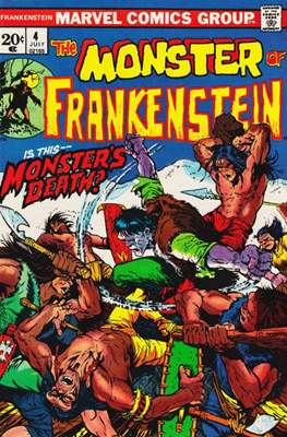 The Frankenstein monster (Grapa) #4