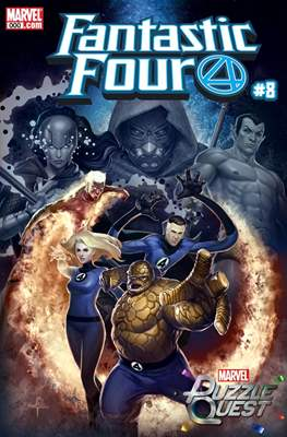 Fantastic Four Vol. 6 (2018- Variant Covers) (Comic Book) #8