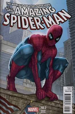The Amazing Spider-Man (Vol. 2 1999-2014 Variant Covers) (Grapa) #700.2