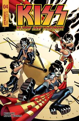 KISS: Blood and Stardust (Variant Covers) (Comic Book) #4.1