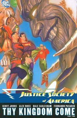Justice Society of America (2007) (Softcover) #3