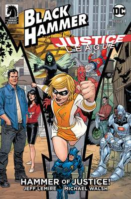 Black Hammer / Justice League: Hammer of Justice (Variant Cover) #1.1