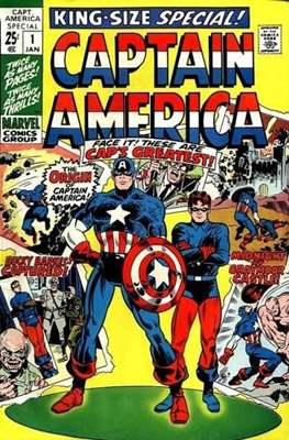 Captain America Vol. 1 Annual (1971-1994)