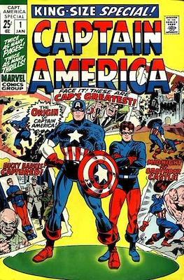 Captain America Vol. 1 Annual (1971-1994) (Comic Book) #1