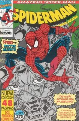 Spiderman Vol. 1 / El Espectacular Spiderman (1983-1994) (Grapa 32-48 pp) #277