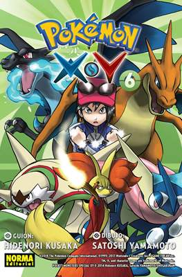 Pokémon X·Y (Rústica con solapas) #6
