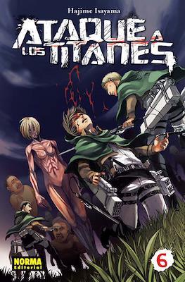 Ataque a los Titanes (Rústica con sobrecubierta) #6