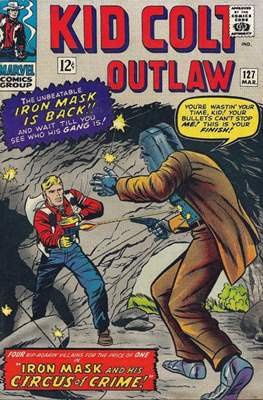 Kid Colt Outlaw Vol 1 (Comic-book.) #127
