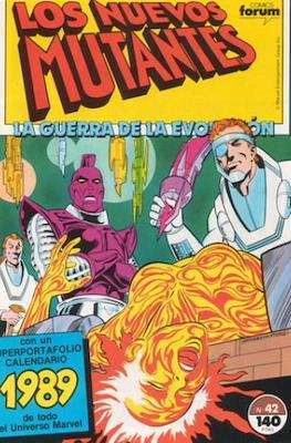 Los Nuevos Mutantes Vol. 1 (1986-1990) (Grapa 32-64 pp) #42
