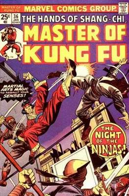 Master of Kung Fu (Comic Book. 1974 - 1983. Continued from Special Marvel Edition #16) #36