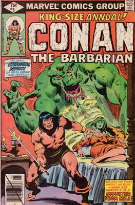 Conan The Barbarian Annuals (1973-1987) (Grapa, 48 págs.) #5
