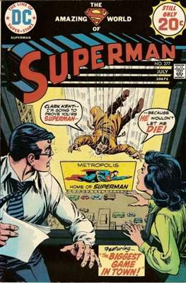 Superman Vol. 1 / Adventures of Superman Vol. 1 (1939-2011) (Comic Book) #277