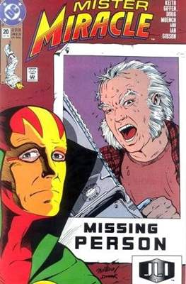 Mister Miracle (Vol. 2 1989-1991) (Comic Book) #20