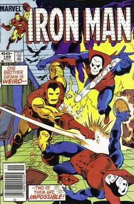 Iron Man Vol. 1 (1968-1996) (Comic book) #188