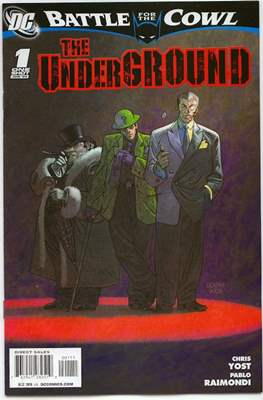 Battle for the Cowl: The Underground (2009)