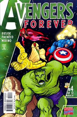 Avengers Forever (Variant Cover) (Comic Book) #4.2