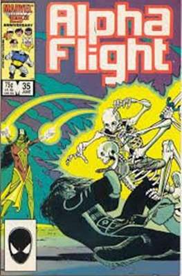 Alpha Flight Vol. 1 (1983-1994) (Comic Book) #35