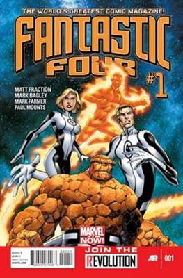Fantastic Four Vol. 4 (Comic Book) #1
