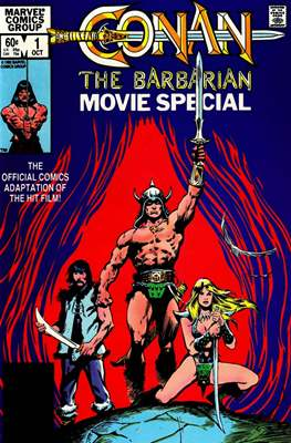 Conan The Barbarian: Movie Special (Grapa) #1