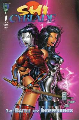 Shi / Cyblade: The Battle for the Independents (1995 - Variant Cover)