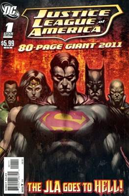 Justice League of America 80-page Giant 2011
