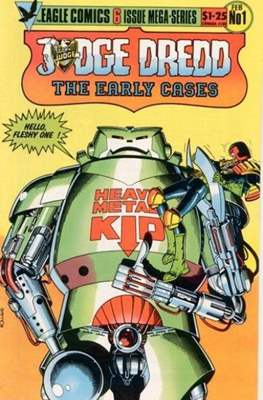 Judge Dredd The Early Cases
