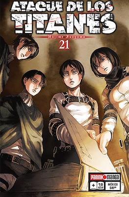 Ataque de los Titanes #21