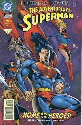 Superman Vol. 1 / Adventures of Superman Vol. 1 (1939-2011) (Comic Book) #531