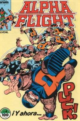 Alpha Flight Vol. 1 / Marvel Two-in-one: Alpha Flight & La Masa Vol.1 (1985-1992) (Grapa 32-64 pp) #4