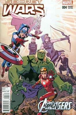 Secret Wars (2015) Variant Covers (Comic Book) #4.3