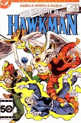 The Shadow War of Hawkman (Comic book) #4