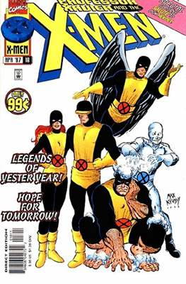 Professor Xavier and the X-Men (Comic Book) #18
