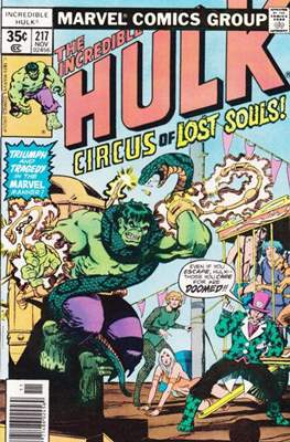 The Incredible Hulk Vol. 1 (1962-1999) (Comic Book) #217