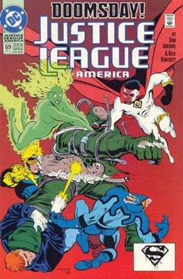Justice League / Justice League International / Justice League America (1987-1996) (Comic-Book) #69