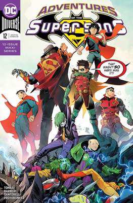 Adventures of the Super Sons (2018-) (Comic Book) #12