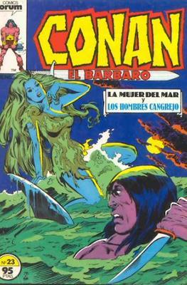 Conan el Bárbaro (1983-1994) (Grapa. 19x27. 36/32/24 páginas. Color.) #23