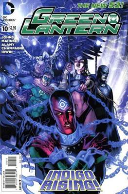 Green Lantern Vol. 5 (2011-2016) (Comic book) #10