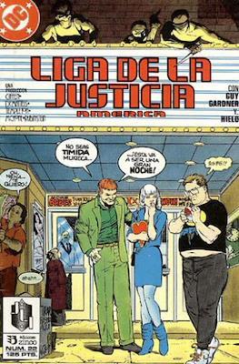 Liga de la Justicia / Liga de la Justicia internacional / Liga de la Justicia de America (1988-1992) (Grapa) #22