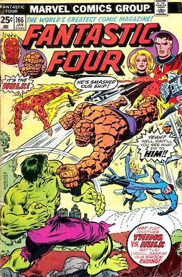 Fantastic Four Vol. 1 (1961-1996) (saddle-stitched) #166