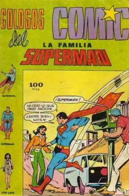 Colosos del Cómic: la familia Superman #3