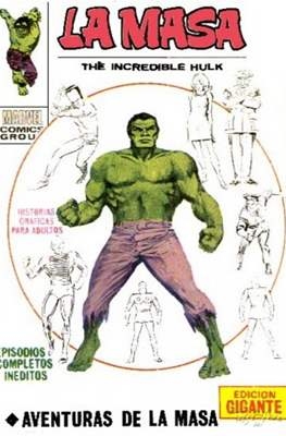 La Masa. The incredible Hulk. Edicion gigante
