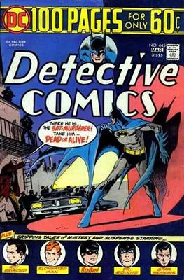 Detective Comics Vol. 1 (1937-2011; 2016-) (Comic Book) #445