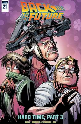 Back to the Future (Comic-book) #21